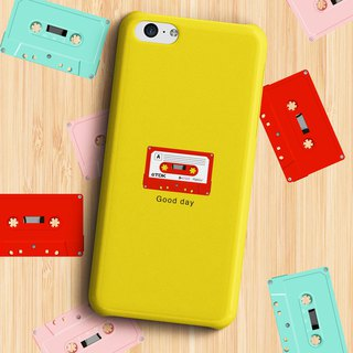 Good day Cassette - Yellow Phone case
