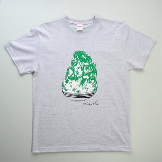 刨冰 Kakigori Shaved ice Men's t-shirt Melon Ash S M L XL 2XL 3XL