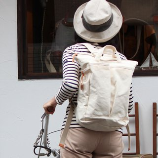 hike: Generation Kurashiki canvas rucksack