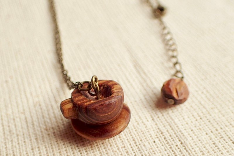 coffeecup necklace