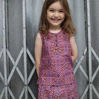 Indonesian batik clothing for girls