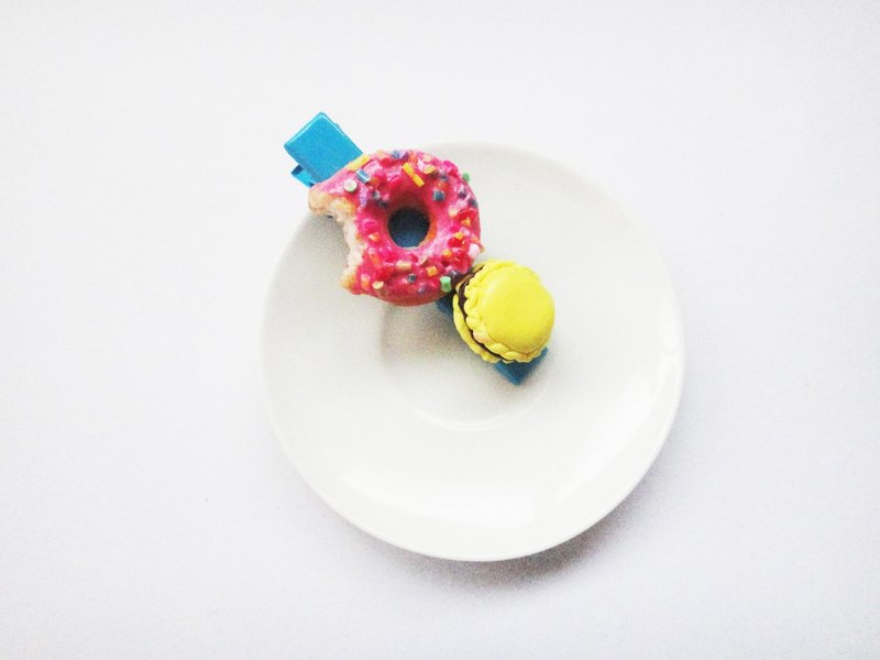 Pin + donut came to be.
