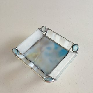 Jewelry Tray Day Dream Pastel Sky Blue Glass Bay View