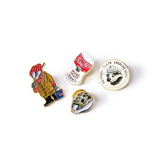 Filter017 Mix Badger / Classic Pack Lapel Pin  米斯獾 / 经典包装胸章