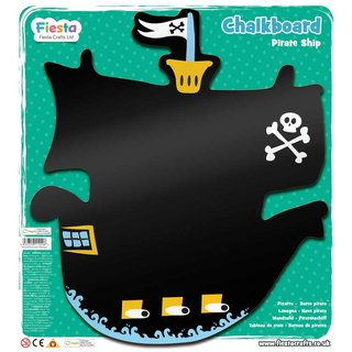 英国Fiesta好玩具- 海盗船造型黑板 Pirate Ship Chalkboard