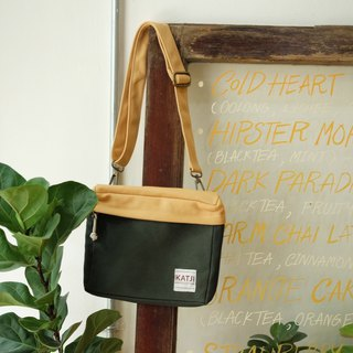 PiP BAG ( Traveller Bag ) : Green x Yellow