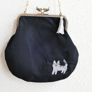 Sabbat pussy embroidered handbags