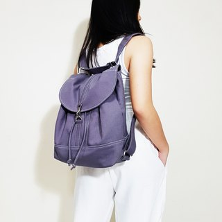 PRESSIE 2 Ways Drawstring Backpack / Canvas Shoulder Bag / Hobo Bag / Travel Bag