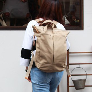 hike: suble Kurashiki canvas rucksack