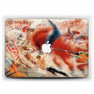 Macbook case Pro 15 touch bar Boccioni MacBook Air 13 Case City Rises Macbook 11 Macbook 12 Macbook Pro 15 Retina classic Case Hard Plastic 1762
