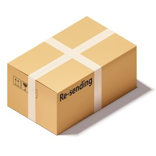 Additional Shipping Fee listing for re-sending the package