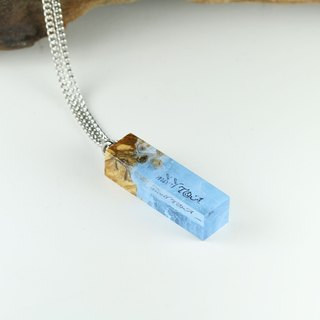Your Signature x Frozen necklace (from Burl wood)