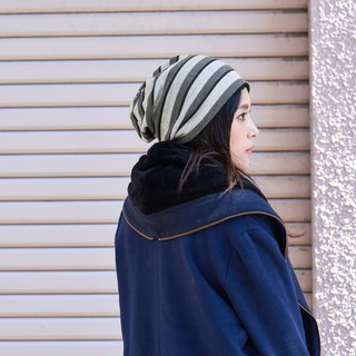 Made in Japan 100% Organic Cotton Beanie Knit Winter Chemo Hat