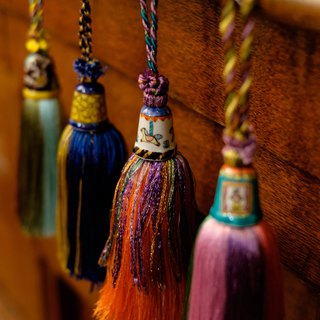 Kutani thimble tassel         No56 +tassel Ohni's color