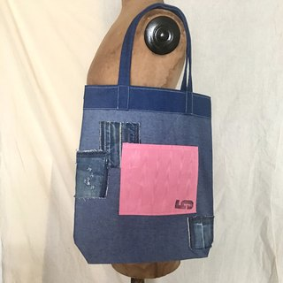 totebag / Vintage denim tote bag tf-333