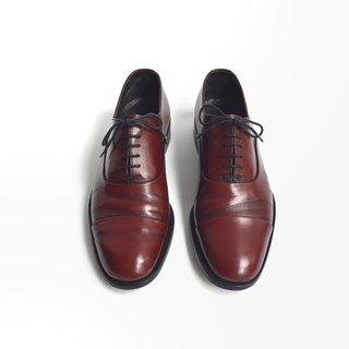 90s 我不与你绅士皮鞋 | Bally Cap Toe Oxford US 7.5D EUR 3940