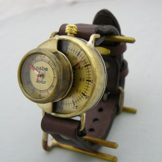 "Hamd Craft Watch ""SCOP-L"" JUMBO Brass Unique Model JUM 66"