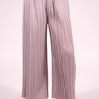 Long Pleated Pants