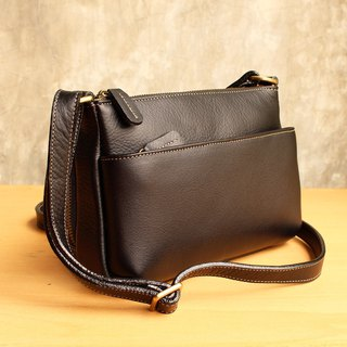 Cross Body Bag - Candy - Black (Genuine Cow Leather) / 皮 包 / Leather Bag