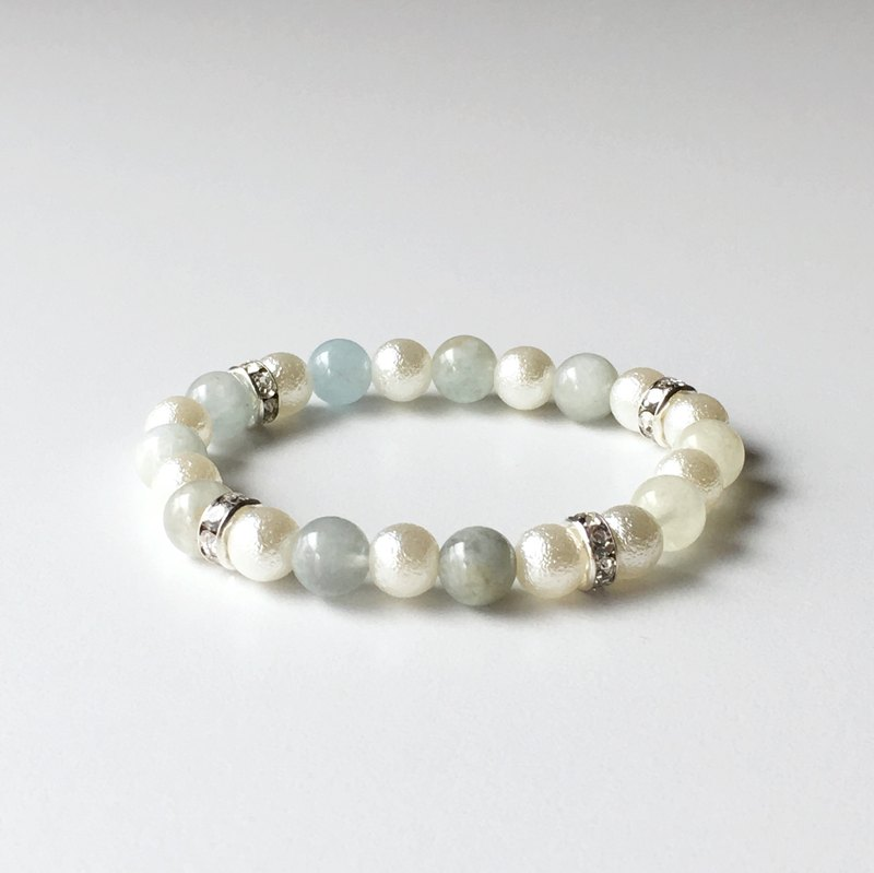 Aquamarine bracelet when you want to proceed thoroughly