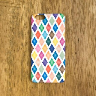 "Irodori. Smartphone case ""Diamond pattern"" SC-189"