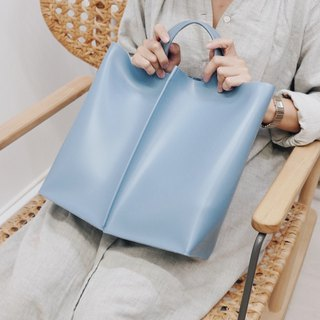 New! Signature tote II by WHITEOAKFACTORY - Light blue