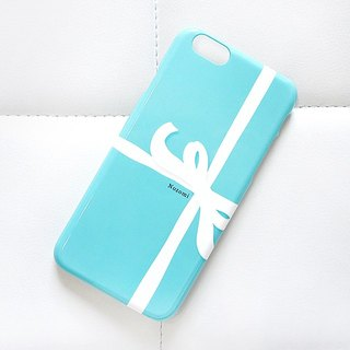 Name can be inserted ★ Cross ribbon pattern blue green smart case ___ ___ 0