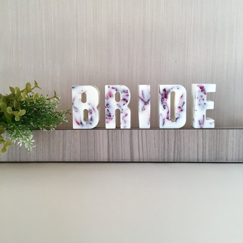 Scented Soy Wax Decorative Letters | Home Decor | Personalised Gift | Flowers