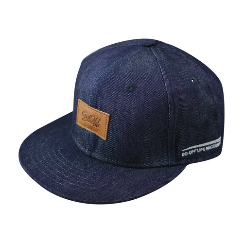 GO OFF DENIM SNAPBACK-牛仔棒球帽