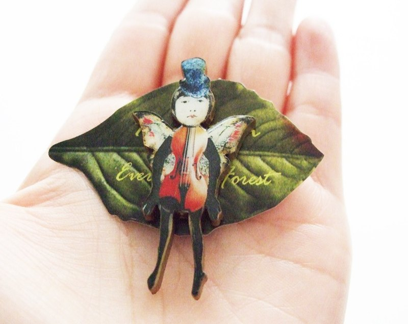 Fairy brooch fairy brooch