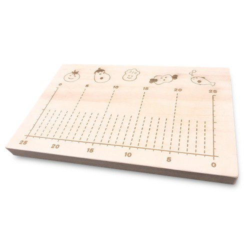 KATOMOKU Cutting board 桐 km-87 With scale