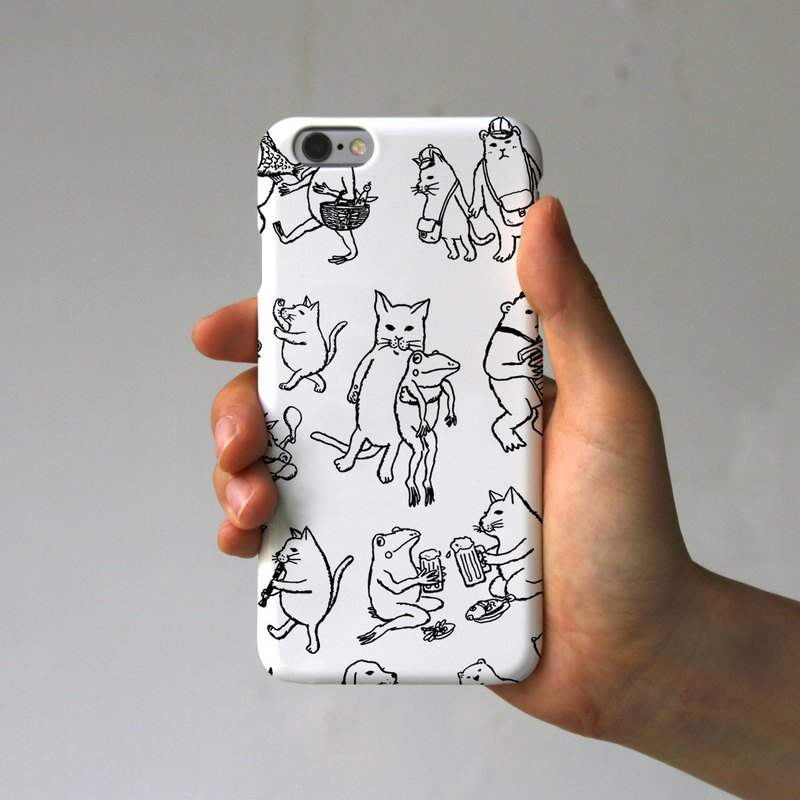 iPhone case Nakama we white