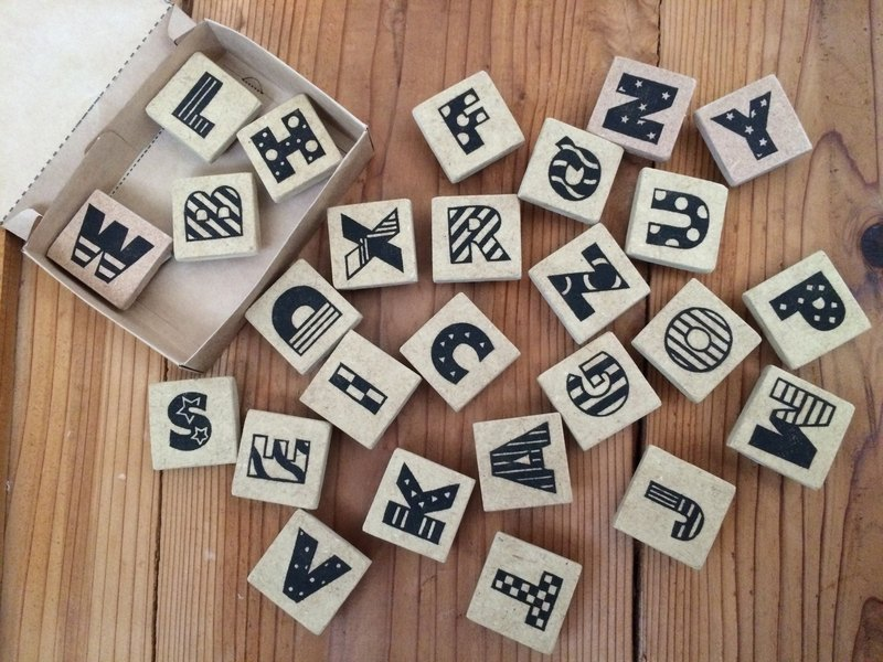 Design Various Alphabet Eraser Rubber Set