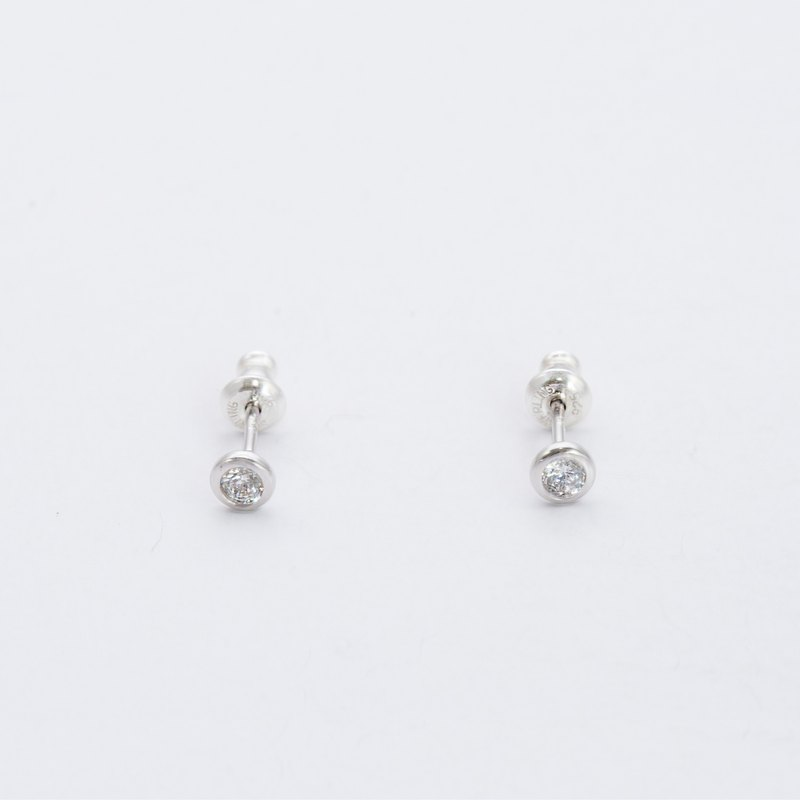 925纯银锆石耳针  Silver Zircon Earrings
