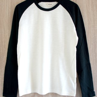 空白素面白 长袖 Long Sleeve Tee (男生款)