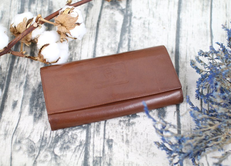 Back to Green::AIGNER多层 长夹 vintage wallet ( WT-01 )