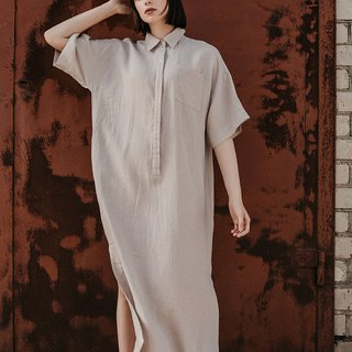 Linen Dress Motumo – 18S4