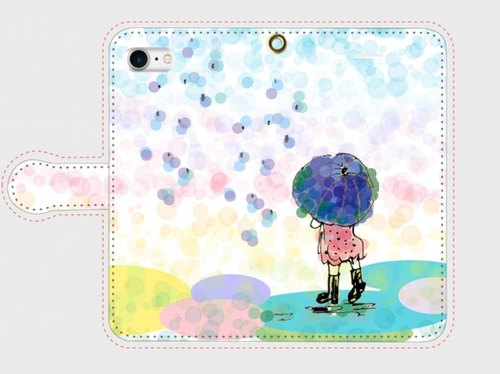 "Compatible with all models ""Gentle rain smartphone"" name insert free shipping"