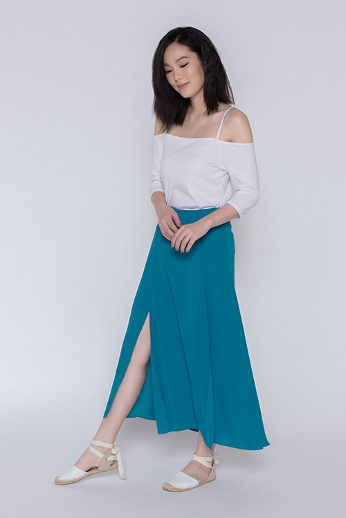 美好时光折摆长裙 One Fine Day Overlap Maxi Skirt