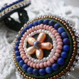 [Beads Embroidery] Circle Ring no.1