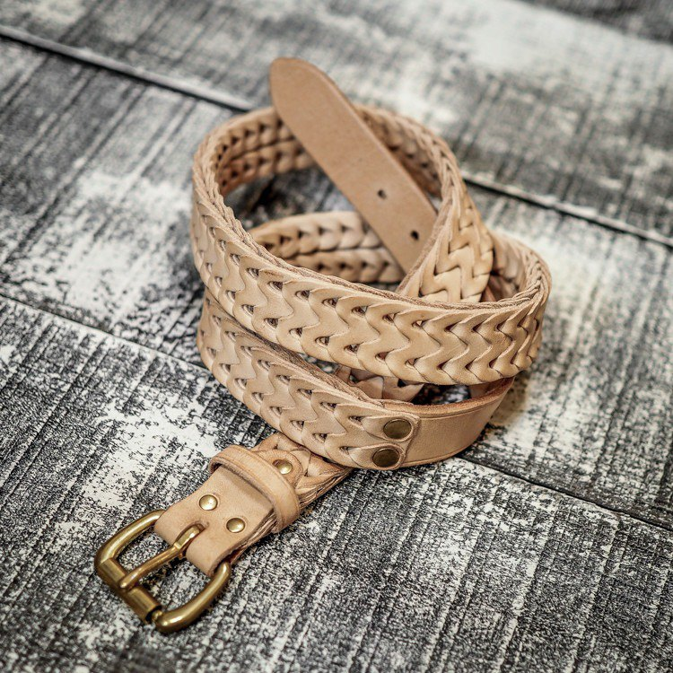 HEYOU Handmade – Chained Leather Belt 锁甲皮革腰带