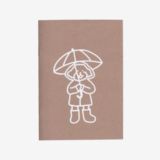 Silkscreen print notebook (blank)