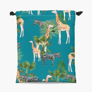 Drawstring Pouch - 束口袋 -  Africa