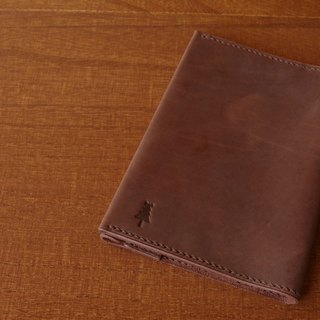 "[MTO] matte texture of the book cover ""paperback (105X148mm) size"" Antique Brown"