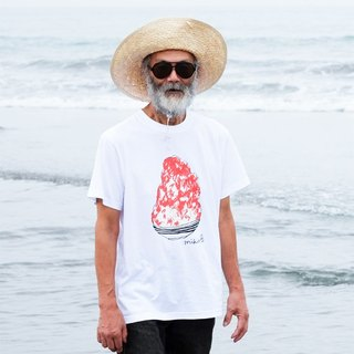 刨冰 Kakigori Shaved ice Men's t-shirt Starwberry S M L XL 2XL 3XL