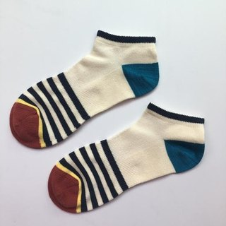 GillianSun Socks Collection【NEW 船型袜】B1601NV_MEN