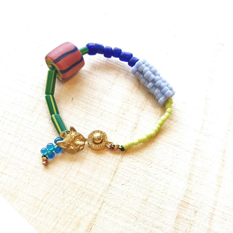 [ Cat and Mice • Beads beat Beads] bracelet collection-001 西瓜。