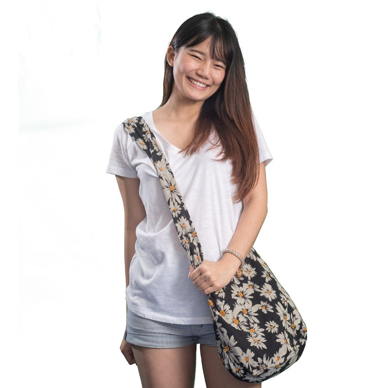 Flower Hippie Bag Shoulder Bag Sling Bag Hobo Bag