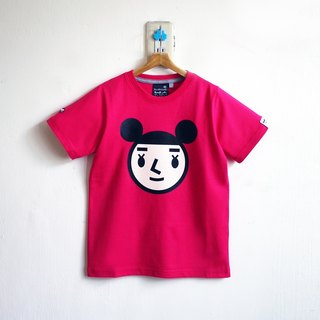 【BestFriend Kids】Jumbo GirlFriend Logo T-Shirt / 08-PINK 童装