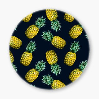 Snupped Ceramic Coaster - 陶瓷杯垫 - Pattern pineapple I